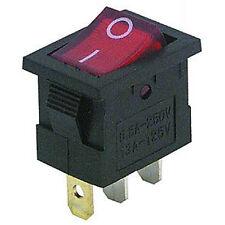 Interrupteur Interrupteur va et vient avec rouge éclairage jusqu'à 250v 6,5a 3-pollig