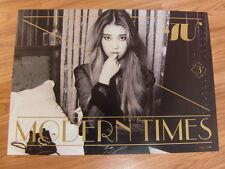 IU - MODERN TIMES NORMAL EDITION [ORIGINAL POSTER] *NEW* K-POP