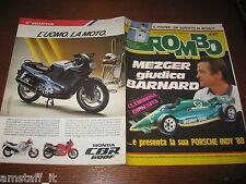 RIVISTA ROMBO 1987/6=PORSCHE INDY '88=PEUGEOT 309 GTI=HUBERT AURIOL=