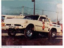 "NEW LISTING ""Jess Tyree"" 1963 Pontiac Tempest AWB Drag Car 1/25th Scale Decal"