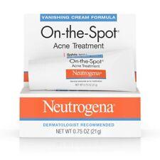2 Neutrogena On-the-spot Acne Treatment Vanishing Cream 21g Total 42g Fast to UK