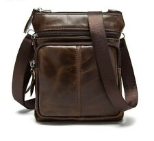 Leather Bag Male Small Shoulder Crossbody Handbags Casual Messenger Men's Bags