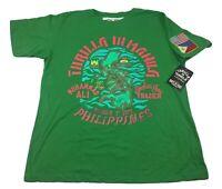 Roots Of Fight Joe Frazier Muhammad Ali Thrilla In Manila T-Shirt Size Large-2XL