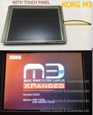 Korg LCD Screen with Touch Panel for Korg M3 keyboard Display kit Pad