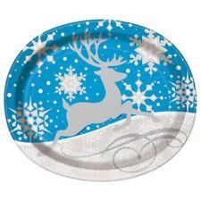 Art de la table de fête argentées pour la maison Noël