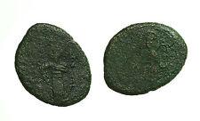 pci3133) Messina RUGGERO II (1105-1154 ) Doppio Follaro Re in Trono Sp 53