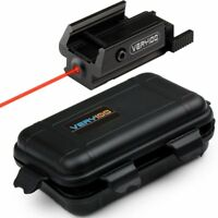 20mm VERY100 Red Dot Laser Sight Tactical Picatinny Weaver Rail Mount With Case