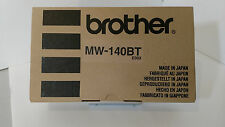 New Brother MW-140BT Mobile Thermal Printer W/ Power Adapter & USB Cable Drivers