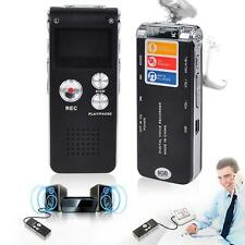 8GB Rechargeable LCD Digital Audio Sound Voice Recorder Dictaphone MP3 PlayerXJ