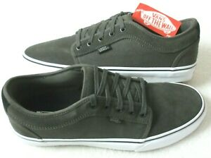 Vans Men's Chukka Low Pro Olive Green White Canvas Skate shoes Size 11.5 NWT