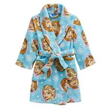 New Disney Elsa Fleece Robe girl blue soft sz 4T