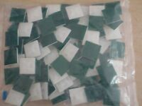 """100PC CABLE ZIP TIE WRAP ADHESIVE MOUNTING BASE HS100 SMALL WHITE 1/2"""" X 1/2"""""""