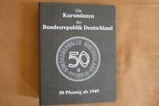 Kursmünzen-Album BRD 50 Pfennig ab 1949-2001 inkl. 1950 G