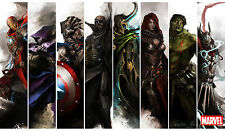 "The Avengers 23.6""*13.8"" Keyboard Mouse Pad Play Mat Card Game Custom Playmat F2"