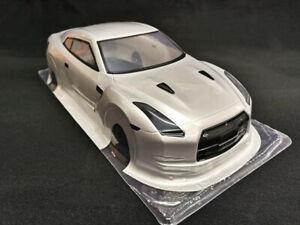 1/10 RC Silver Body Shell 190mm Nissan Skyline GTR R35