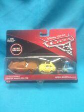 disney pixar cars diecast LUIGI & GUIDO W/CHESTER WHIPPLEF Set. 2016 NIP. Mattel