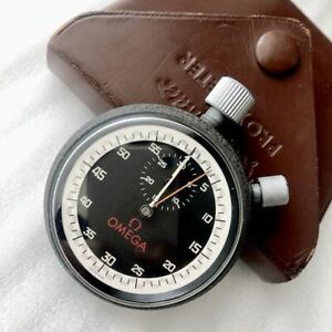 USED Excellent+ Ω OMEGA vintage hand-winding stopwatch RARE item from JAPAN