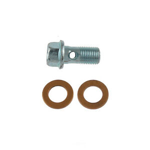 Brake Hydraulic Banjo Bolt Front,Rear Carlson H9471-2