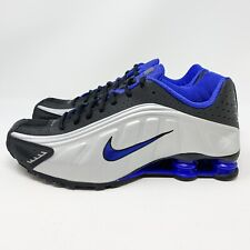 best loved a3544 23980 2019 Nike Shox R4 OG Size 10.5 Metallic Silver Racer Blue New Shoes  104265-047