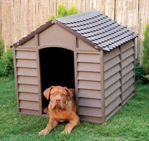 Cuccia canile in resina cm 86x84x82H per cani taglia grande esterno e interno be