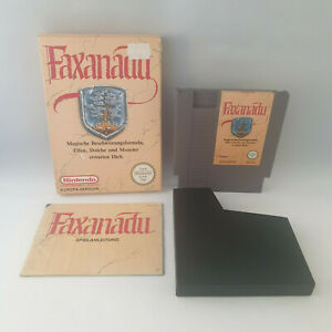 Nintendo NES - Faxanadu (Europa Version) - Complete in Box CIB