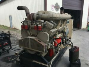 1981 Cummins KT2300-605KW Diesel Generator. 915HP. Complete and Run Tested.