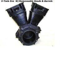 Harley Davidson HD V-Twin Evo Set up Motorcycle Engine With Heads & Barrels,HD
