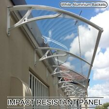 DOOR/WINDOW TRIPLE MODULE AWNING SOLID POLYCARBONATE CANOPY 4 SIZES