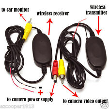 Car Navigation DVD MP5 2.4G 12V Wireless Video Transmitter Receiver Module New