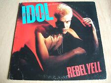 billy idol  rebel yell 1983 original american promo only issue vinyl lp fv41450