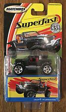 Matchbox Superfast 2005 Jeep Hemi Hurricane Concept model car MOC #H8175