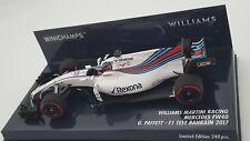 Minichamps 417170041 1/43 2017 Williams FW40 Gary Paffett test Drive F1 Model