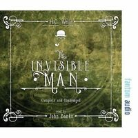The Invisible Man by Wells, H. G., NEW Book, FREE & FAST Delivery, (Audio CD)