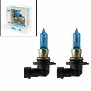 2x  H8 12360 Diamond Vision 5000K 12V 35W White Light Halogen Bulbs Lamp F6