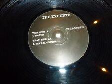 "THE EXPERTS - Motor - UK 2-track 12"" Vinyl Single - DJ PROMO"