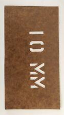 22 Lr, .380, .357 Sig, 9Mm, .223 .556, .762 X 39, Custom Ammo Can Box Stencil