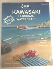 Kawasaki Personal Watercraft 1992-1998 Tune-up & Repair Manual Seloc Vol Ia
