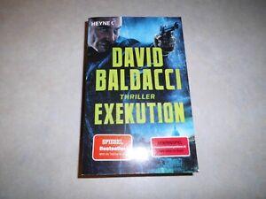 David BALDACCI: Exekution  (Der Memory Man Band 3), TB 2021