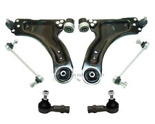 VAUXHALL COMBO FRONT 2 LOWER SUSPENSION WISHBONE ARMS + LINKS + TRACK ROD ENDS