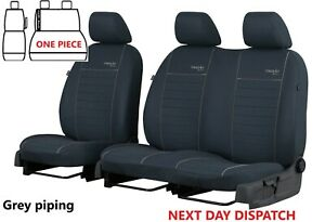 PEUGEOT EXPERT 2018 2019 2020 2021 FABRIC TAILORED FRONT SEAT COVERS