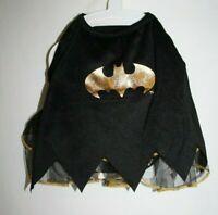 Batman Dress S SMALL Dog Halloween Pet Costume Tutu Cape Outfit DC Comics Puppy