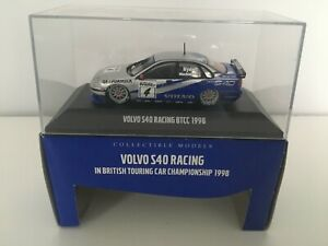 MINIBRI/ONYX 1:43 DIECAST MODEL VOLVO S40 RACING BTCC 1998 Mint Boxed