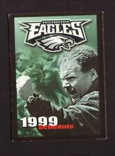 Philadelphia Eagles--Andy Reid--1999 Pocket Schedule--Modell's