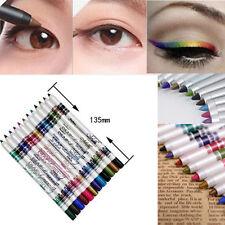 12xMakeup Eye Liner Pen Waterproof Gel Eyeliner Pencil Cosmetic(12 Colors)
