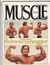 MUSCLE BUILDER bodybuilding magazine/ARNOLD SCHWARZENEGGER 5-77