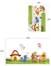 Winnie The Pooh Tigger Vivero-Impreso Vinilo decoración pegatinas de pared de transferencia