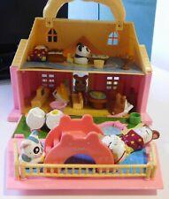 Casetta dei giochi con Hamtaro da collezione, personaggi e accessori inclusi