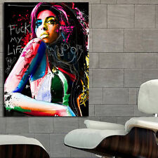 Poster Mural Amy Winehouse 40x54 in (100x135 cm) 8mil paper