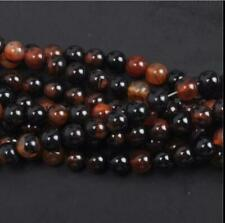 Natural Gemstone Round Spacer Loose Beads 4MM 10PC 42