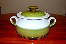 Vintage Denby Green Rochester Medium Size Lidded Casserole Dish, Tureen.
